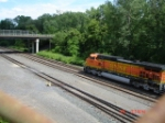 BNSF 4185 EB w/CSX Q380